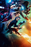 DC's Legends of Tomorrow season 1 textless poster - Their Time is Now
