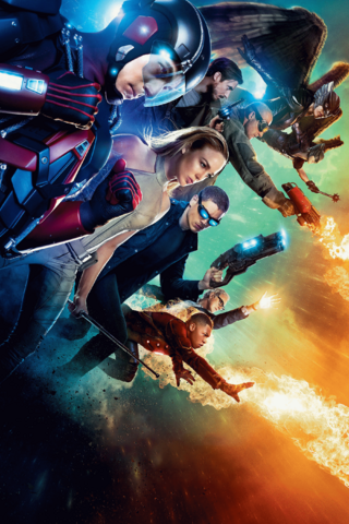 File:DC's Legends of Tomorrow season 1 textless poster - Their Time is Now.png