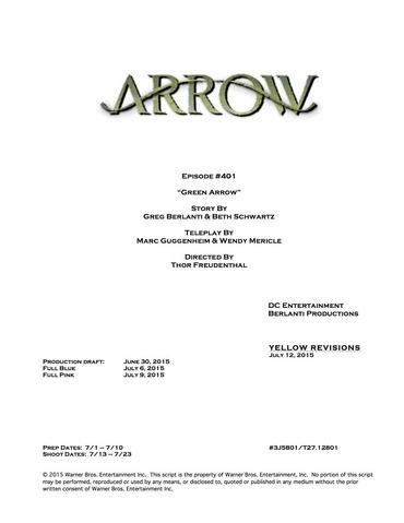 File:Arrow script title page - Green Arrow.png