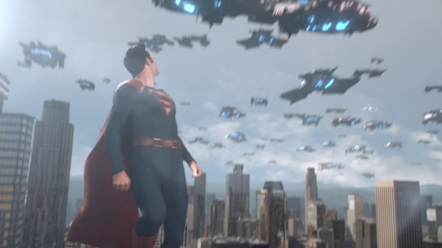 File:Superman watches as the Daxamites leaves Earth.png