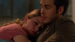 Mon-El comforting Kara