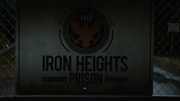 Iron Heights Prison sign