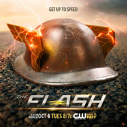 The Flash season 2 poster - Get Up to Speed