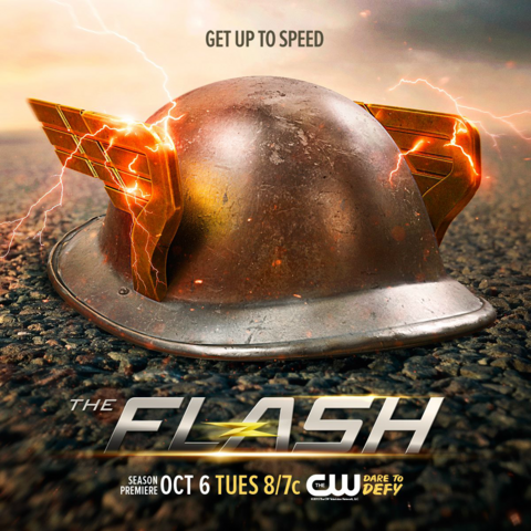 File:The Flash season 2 poster - Get Up to Speed.png