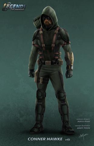 File:DC's Legends of Tomorrow season 1 - Connor Hawke concept artwork.png
