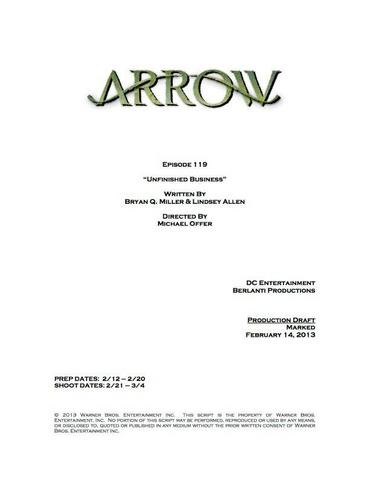 File:Arrow script title page - Unfinished Business.png