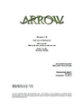 Arrow script title page - Unfinished Business.png
