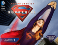 Adventures of Supergirl chapter 1 cover.png
