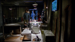 Curtis Holt and Felicity Smoak in Lair 2.0