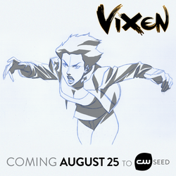 Vixen - Early concept design by Phil Bourassa