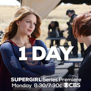 1 day until the Supergirl series premiere