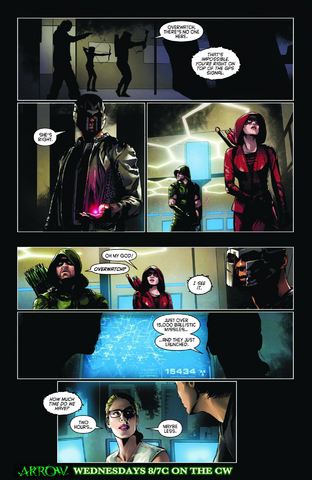 File:Arrow comic sneak peek - Schism.png