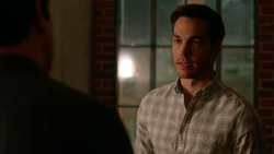 Mon-El facing Jeremiah