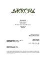 Arrow script title page - Home Invasion.png