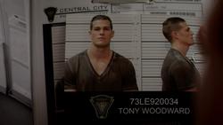 Tony Woodward's CCPD criminal record