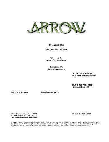 File:Arrow script title page - Spectre of the Gun.png