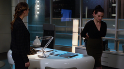 Kara watches as Lena is wrongly arrested
