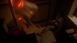 The Reverse Flash snatching Mason