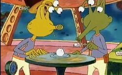 Ice cream aliens