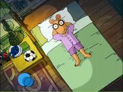 Arthur purple pajamas