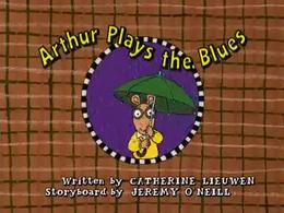 Arthur Plays the Blues Title Card