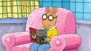 AllAboutDW - Arthur reading comic