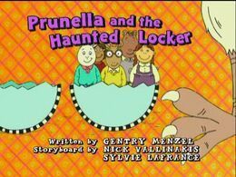Prunella and the Haunted Locker