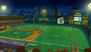 Elwood city stadium right field view