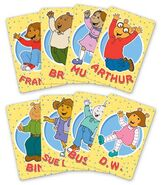 Arthur saves the planet character cards
