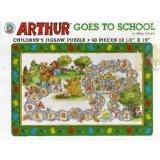 Arthur goes to school puzzle