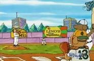 Elwood city stadium home plate view 2