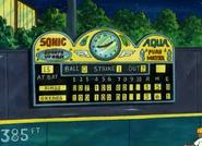 Elwood city stadium scoreboard