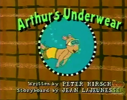 Arthur's Underwear Title Card