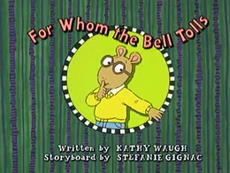 For Whom the Bell Tolls Title Card