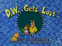 D.W. Gets Lost Title Card