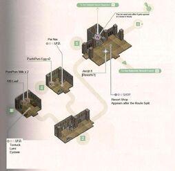 Rakshek Resort Map 1