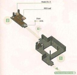 Bell Strike Hall Map 1