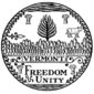 Great seal of Vermont bw