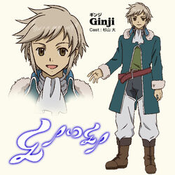 Anime Concept Ginji