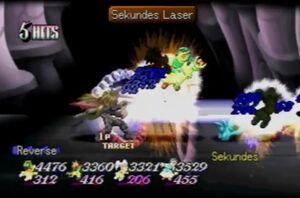 Sekundes Laser (ToE)