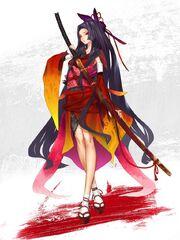 Fate Regalia Kuzunoha Ran