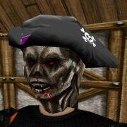 Undead Captain Mask Live