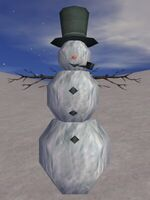 The Blind Snowman Live