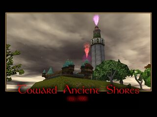 Toward Ancient Shores Splash Screen