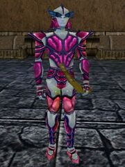 Lesser Olthoi Armor Live