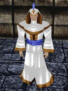 Empowered Empyrean Robe (White) Live