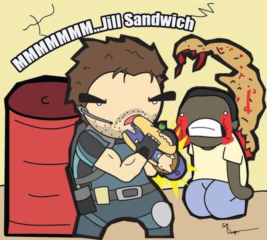 File:Resident Evil 5 Jill Sandwich by the lagz.jpg