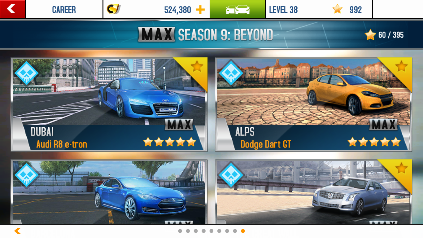 Asphalt 8 Beyond Career Mode Asphalt Wiki Fandom
