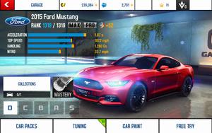 Mustang stats (MPTK)