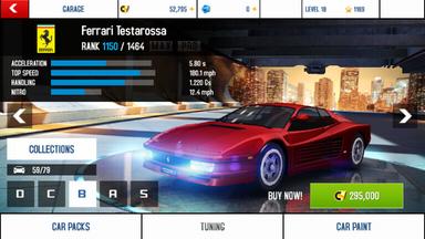 Ferrari Testarossa stock + price